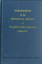 Image of Publications of the Historical Society of Washington County, Virginia. - 1998.25.2