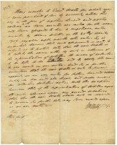 Image of Memorandum, front