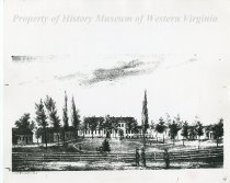 Image of Valley Union Seminary Print - circa 1847