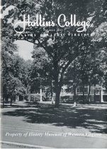 Image of Hollins College Advertising Pamplet - 1940-1950