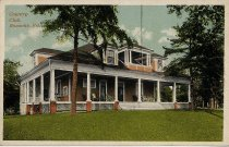 Image of Postcard of Country Club in Roanoke, Virginia, front
