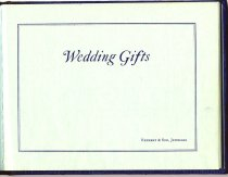 Image of Wedding Gifts Album, inside page