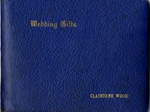Image of Wedding Gifts Album, cover