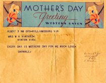 Image of Mother's Day Telegram