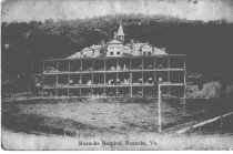 Image of Roanoke Hospital Postcard, front