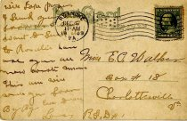 Image of Postcard of City Hall, Roanoke, VA, back