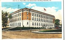 Image of U.S. Post Office & Government Bldg, front