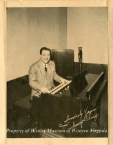 """Image of Photograph of """"Cousin"""" Irving Sharp, front"""
