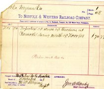 Image of N&W Bill