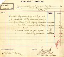 Image of VA Co Bill No 40