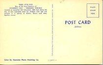 Image of Back of poscard