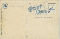 Image of Back of postcard