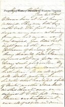Image of Letter from Alice Mathilda Watts Morris to William Watts - December 23, 1861
