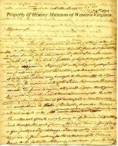 Image of Letter from C. F. Mercer to Edward Watts - September 14, 1823