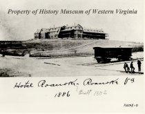 Image of Hotel Roanoke, 1886