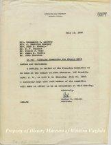 Image of Correspondence - July 13, 1966