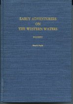Image of Early Adventures on the Western Waters