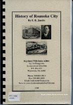 Image of History of Roanoke City - 2007.6.140