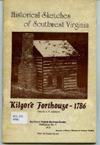 Image of Historical Sketches of Southwest Virginia - 2007.6.141