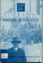 Image of Augusta Historical Bulletin, - 2007.6.151