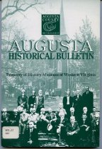 Image of Augusta Historical Bulletin, - 2007.6.152