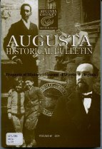 Image of Augusta Historical Bulletin, - 2007.6.153