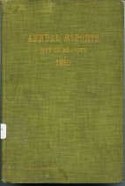 Image of Annual Reports, City of Roanoke, 1910 - 2007.6.48