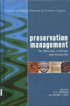 Image of Preservation Management for libraries, archives and museums - 2009.25.01