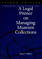 Image of A Legal Primer on Managing Museum Collections - 2009.25.06