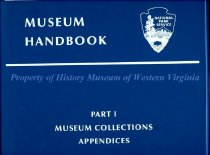 Image of Museum Handbook Part 1: Museum Collections - Appendices - 2009.25.12
