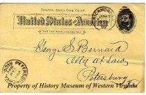 Image of J.E.L. (John E. Laughton)  Jr. Post Card  - June 17, 1891