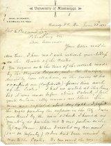 Image of R. W. Jones letter - June 22, 1892 - June 22, 1892
