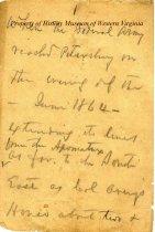Image of Bernard writes on Petersburg - 1892 - assumed
