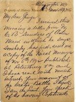 Image of J. E. Crow letter of November 16, 1892 - November 16, 1892