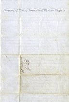 Image of Account Sheet, Back
