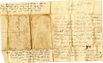 Image of Letter from Stephen Terry to Samuel Thompson