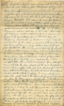 Image of trust deed - March 4, 1847