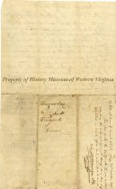 Image of Deed, Back
