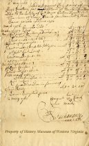 Image of settlement of account - May 2, 1763