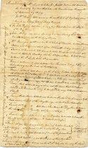 Image of memorandum - July 7, 1767