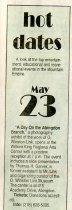 Image of Hot Dates - May 23, 2002