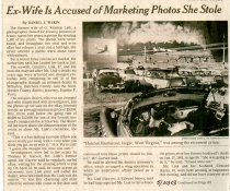 Image of Ex-Wife Is Accused of Marketing Photos She Stole - May 30, 2003