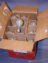Image of Box of 36 #3 bulbs.