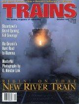 Image of Trains; the leading magazine of railroading - OWL2007.06.10