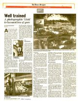 Image of Well trained: A photographic 'Link' to locomotives of yore - December 3, 1993