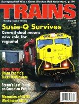 Image of Trains, The Leading Magazine of Railroading - OWL2007.06.36