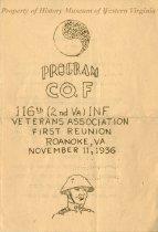 Image of Program of Company F
