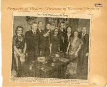 Image of City Recreation Department Party - circa 1930