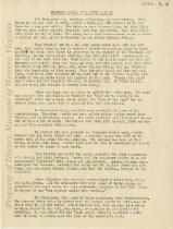 Image of Manuscript (typescript report) - not dated