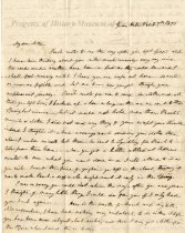 Image of Letter, page 1